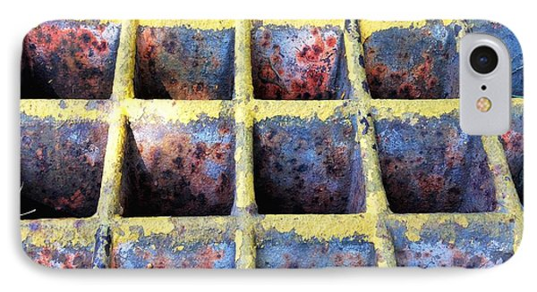 IPhone Case featuring the photograph Aging Steel by Olivier Calas