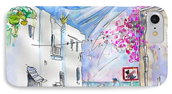Agua Amarga 06 Phone Case by Miki De Goodaboom