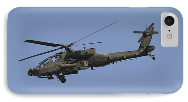 Ah-64 Apache In Flight Over The Baghdad IPhone Case