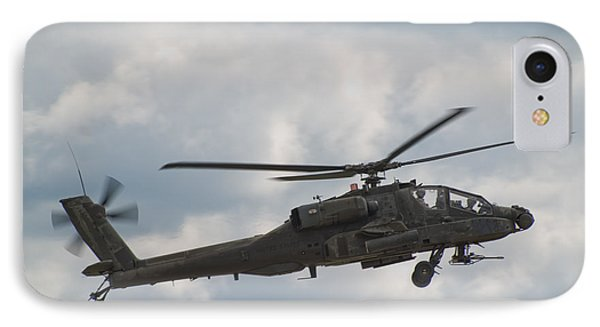 Ah-64 Apache IPhone Case by Sebastian Musial