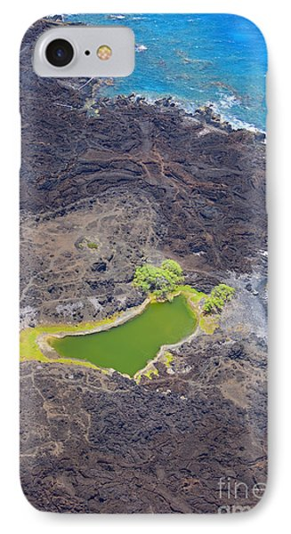 Ahihi Kinau Natural Reserve Phone Case by Ron Dahlquist - Printscapes