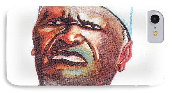 Ahmed Sekou Toure IPhone Case by Emmanuel Baliyanga