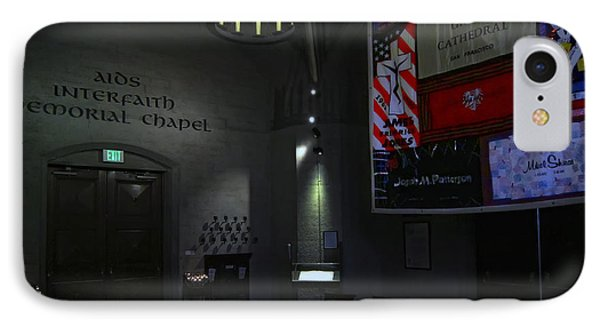 Aids Interfaith Memorial Chapel - San Francisco Phone Case by Daniel Hagerman