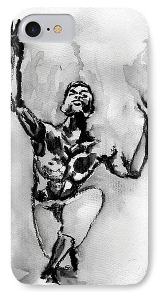 Ailey IPhone Case by Howard Barry