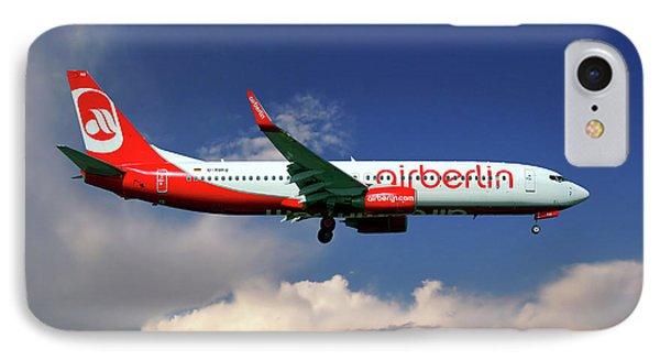 Berlin iPhone 7 Case - Air Berlin Boeing 737-800 by Smart Aviation