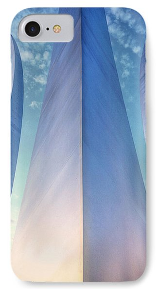 Air Force Memorial Phone Case by JC Findley