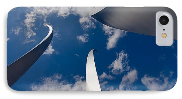 Air Force Memorial Phone Case by Louise Heusinkveld