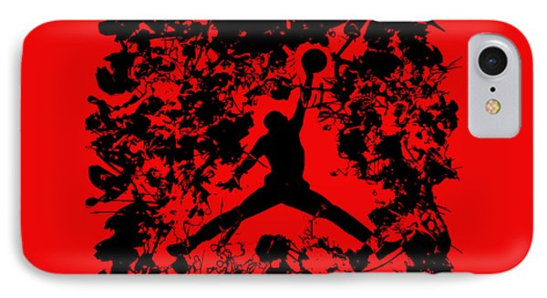 Air Jordan 1b IPhone Case by Brian Reaves
