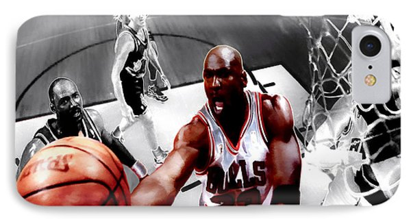 Air Jordan 5g IPhone Case by Brian Reaves