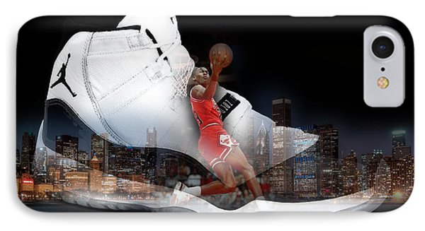 Air Jordan Chicago IPhone Case by Britten Adams
