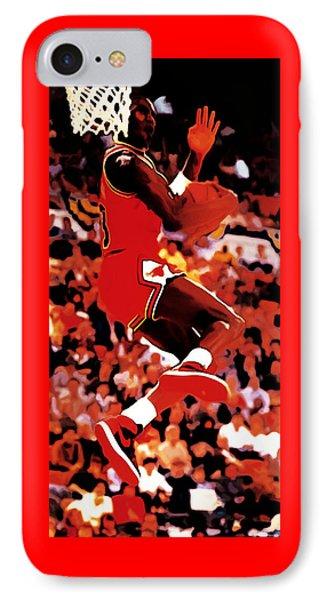 Air Jordan Cradle Dunk IPhone Case by Brian Reaves