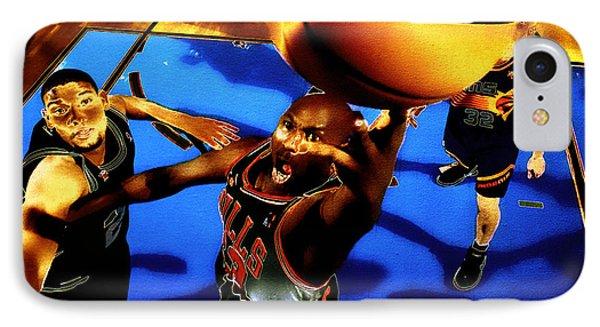 Air Jordan Finger Roll IPhone Case