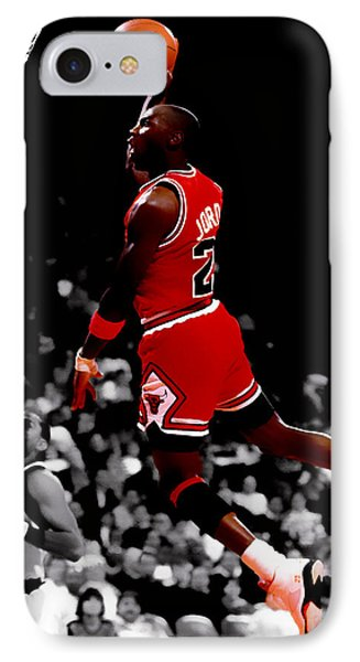 Air Jordan Flight Path IPhone Case by Brian Reaves