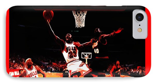 Air Jordan In Flight 3b IPhone Case by Brian Reaves