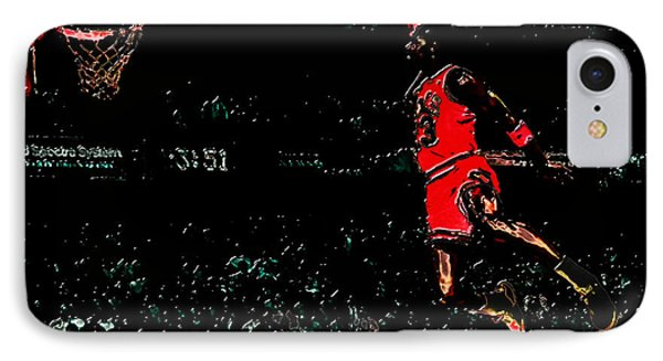 Air Jordan In Flight 3g IPhone Case by Brian Reaves