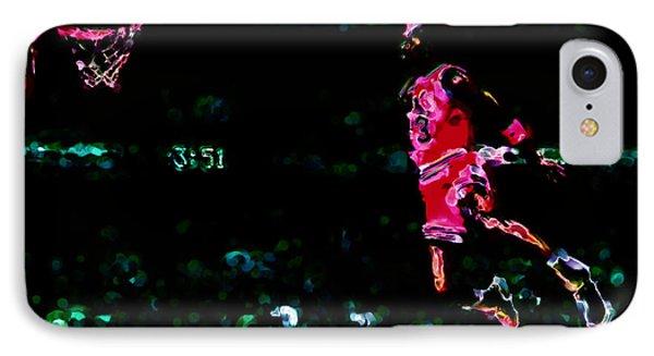 Air Jordan In Flight Thermal IPhone Case by Brian Reaves
