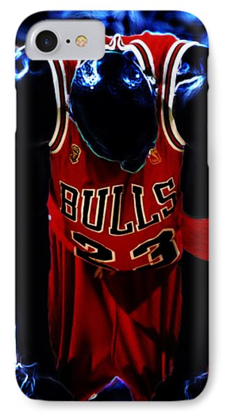Air Jordan Never Quit IPhone Case by Brian Reaves