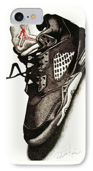 Air Jordan IPhone 7 Case by Robert Morin