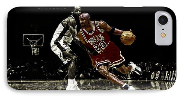 Air Jordan Shake IPhone Case by Brian Reaves