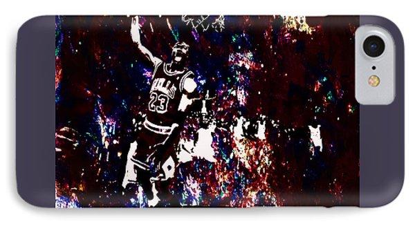 Air Jordan Slam In The Paint IPhone Case by Brian Reaves