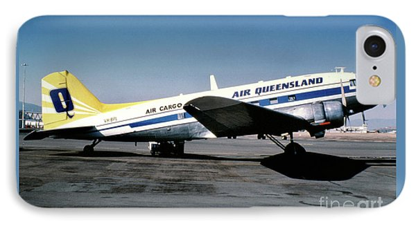 Air Queensland Douglas C-47a-20-dk, Vh-bpl IPhone Case by Wernher Krutein