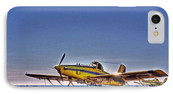Air Tractor IPhone Case by William Fields