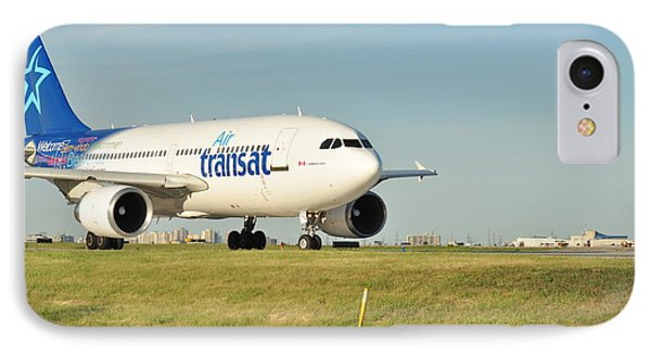 Air Transat IPhone Case by Puzzles Shum