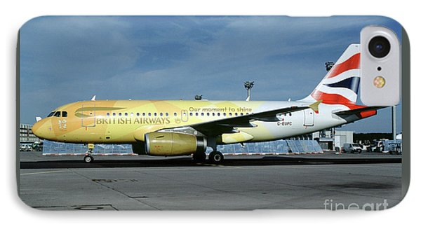 Airbus A319-131, British Airways, G-eupc, Olympic Torch Relay, O IPhone Case