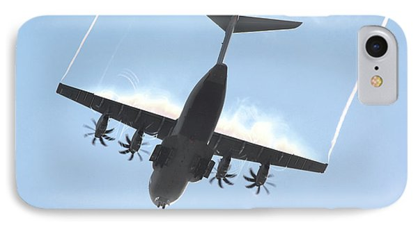 IPhone Case featuring the photograph Airbus A400m by Tim Beach