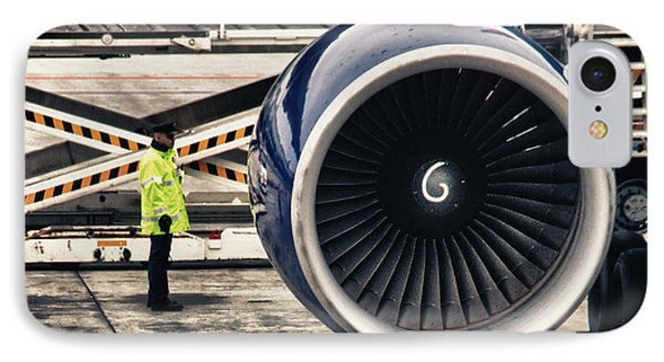 Airbus Engine IPhone Case