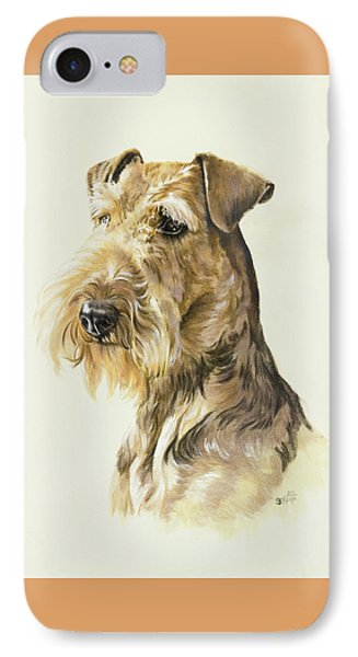 Airedale Phone Case by Barbara Keith