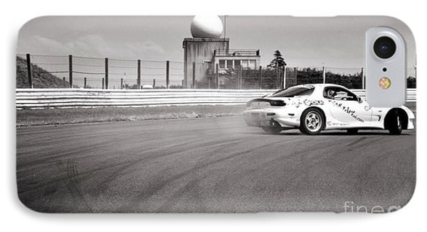 Airfield Drifting Phone Case by Andy Smy