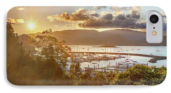 Airlie Beach Marina IPhone Case by Az Jackson