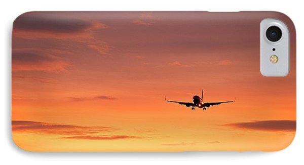 Airlpane In Flight Phone Case by John Greim