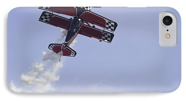 Airplane Performing Stunts At Airshow Photo Poster Print IPhone Case by Keith Webber Jr