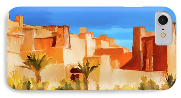 Ait Benhaddou Morocco IPhone Case by Wally Hampton