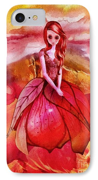 IPhone Case featuring the painting Aithne by Mo T