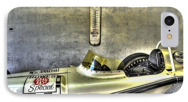 Aj Foyt 1961 Roadster IPhone Case by Josh Williams