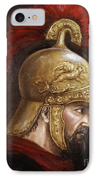 IPhone Case featuring the painting Ajax by Arturas Slapsys