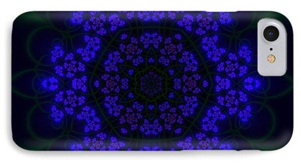 IPhone Case featuring the digital art Akabala Lightmandala by Robert Thalmeier