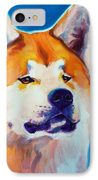 Akita - Apricot Phone Case by Alicia VanNoy Call