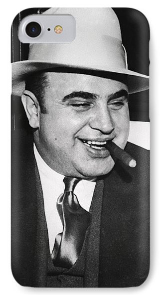 Al Capone Chicago Prohibition Crime Boss IPhone Case