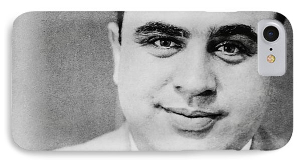 Al Capone Mugshot Miami Fl IPhone Case by Jon Neidert