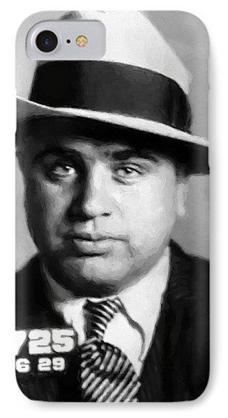 Al Capone Mugshot Painterly IPhone Case
