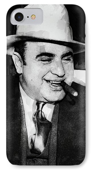 Al Capone Prohibition Boss Of Chicago IPhone Case