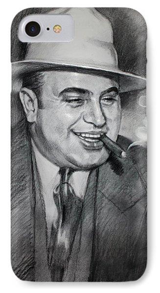 Al Capone  IPhone Case by Ylli Haruni