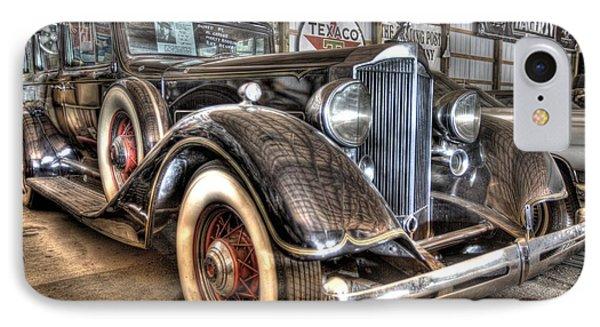 Al Capone's Packard IPhone Case by Nicholas  Grunas