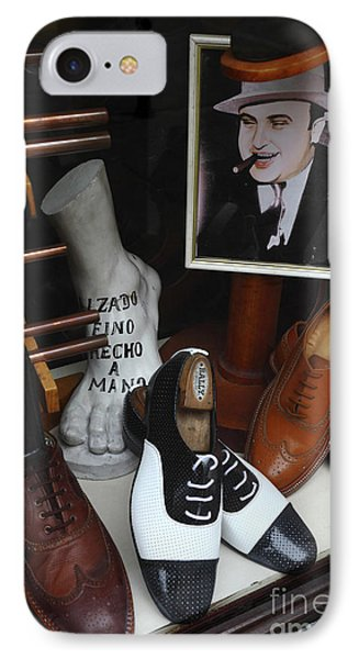 Al Capone's Shoe Collection IPhone Case by James Brunker