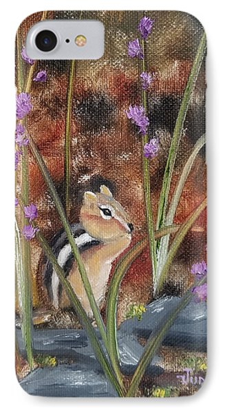IPhone Case featuring the painting Al Fresco Dining With A View by Judith Rhue