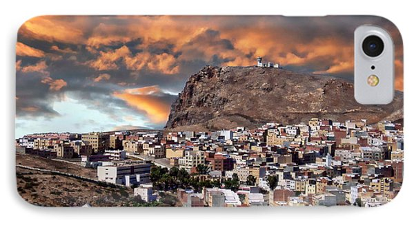 Al Hoceima - Morocco IPhone Case by Anthony Dezenzio